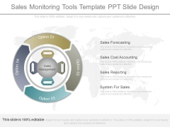 Sales Monitoring Tools Template Ppt Slide Design