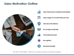 Sales Motivation Outline Ppt PowerPoint Presentation Gallery Rules