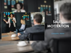 Sales Motivation Ppt PowerPoint Presentation Complete Deck With Slides