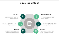 Sales Negotiations Ppt PowerPoint Presentation Gallery Sample Cpb