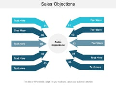 Sales Objections Ppt PowerPoint Presentation Styles Templates Cpb