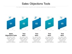 Sales Objections Tools Ppt PowerPoint Presentation Designs Download Cpb