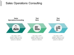 Sales Operations Consulting Ppt Powerpoint Presentation Summary Structure Cpb