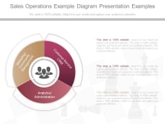 Sales Operations Example Diagram Presentation Examples
