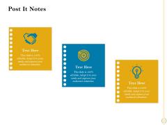 Sales Optimization Best Practices To Close More Deals Post It Notes Diagrams PDF