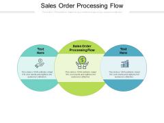 Sales Order Processing Flow Ppt PowerPoint Presentation Portfolio Model Cpb