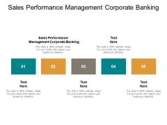 Sales Performance Management Corporate Banking Ppt PowerPoint Presentation File Graphics Pictures Cpb