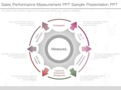 Sales Performance Measurement Ppt Sample Presentation Ppt