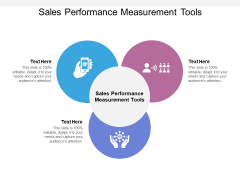 Sales Performance Measurement Tools Ppt PowerPoint Presentation Pictures Objects Cpb