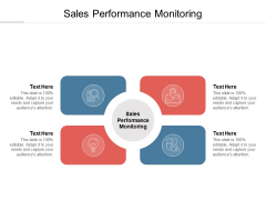 Sales Performance Monitoring Ppt PowerPoint Presentation Icon Slideshow Cpb