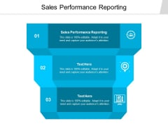 Sales Performance Reporting Ppt PowerPoint Presentation Infographic Template Professional Cpb