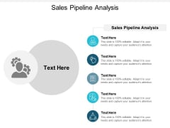 Sales Pipeline Analysis Ppt PowerPoint Presentation Summary Ideas Cpb