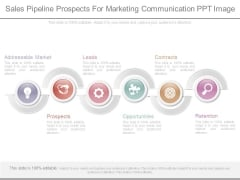 Sales Pipeline Prospects For Marketing Communication Ppt Image