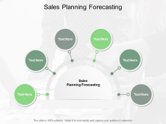 Sales Planning Forecasting Ppt PowerPoint Presentation Ideas Graphic Tips Cpb
