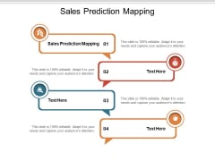 Sales Prediction Mapping Ppt PowerPoint Presentation Summary Portrait Cpb