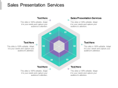 Sales Presentation Services Ppt PowerPoint Presentation Gallery Slide Portrait Cpb