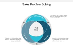 Sales Problem Solving Ppt PowerPoint Presentation Styles Display