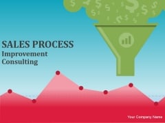 Sales Process Improvement Consulting Ppt PowerPoint Presentation Complete Deck With Slides