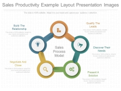 Sales Productivity Example Layout Presentation Images