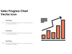 Sales Progress Chart Vector Icon Ppt Powerpoint Presentation Slides Graphics Pdf