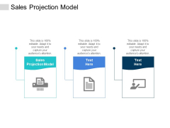 Sales Projection Model Ppt PowerPoint Presentation Gallery Display Cpb
