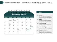 Sales Promotion Calendar Monthly Marketing Ppt PowerPoint Presentation Portfolio Rules