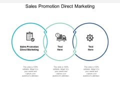 Sales Promotion Direct Marketing Ppt PowerPoint Presentation Layouts Layouts Cpb