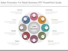 Sales Promotion For Retail Business Ppt Powerpoint Guide