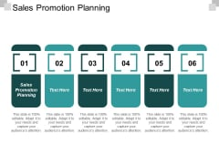 Sales Promotion Planning Ppt PowerPoint Presentation Layouts Vector Cpb