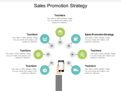Sales Promotion Strategy Ppt PowerPoint Presentation Infographic Template Inspiration Cpb