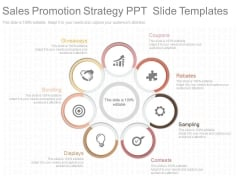 Sales Promotion Strategy Ppt Slide Templates