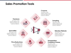 Sales Promotion Tools Ppt PowerPoint Presentation Pictures Example File