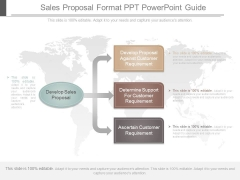 Sales Proposal Format Ppt Powerpoint Guide