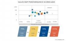 Sales Rep Performance Scorecard Ppt PowerPoint Presentation Example 2015