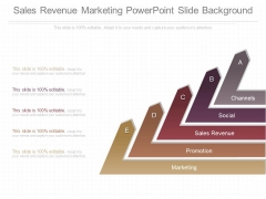 Sales Revenue Marketing Powerpoint Slide Background