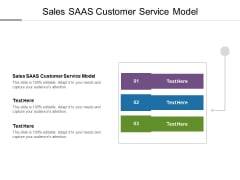 Sales SAAS Customer Service Model Ppt PowerPoint Presentation Outline Infographics Cpb