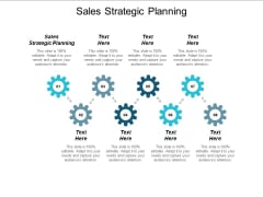Sales Strategic Planning Ppt PowerPoint Presentation Infographic Template Example Introduction Cpb