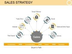 Sales Strategy Template 2 Ppt PowerPoint Presentation Infographics