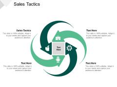 Sales Tactics Ppt PowerPoint Presentation Slides Format Ideas Cpb