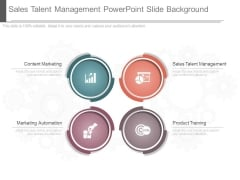 Sales Talent Management Powerpoint Slide Background