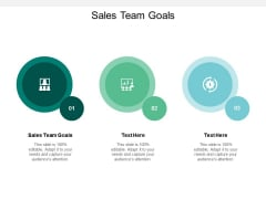 Sales Team Goals Ppt PowerPoint Presentation Layouts Graphics Cpb