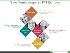 Sales Team Management Powerpoint Templates Download