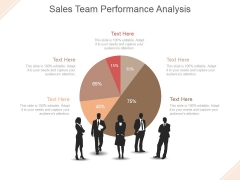 Sales Team Performance Analysis Ppt PowerPoint Presentation Inspiration