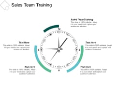 Sales Team Training Ppt PowerPoint Presentation Backgrounds Cpb
