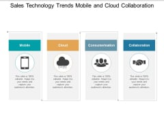 Sales Technology Trends Mobile And Cloud Collaboration Ppt Powerpoint Presentation Summary Deck