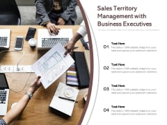 Sales Territory Management With Business Executives Ppt PowerPoint Presentation Gallery Graphic Images PDF
