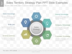 Sales Territory Strategy Plan Ppt Slide Examples