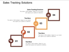 Sales Tracking Solutions Ppt PowerPoint Presentation File Graphics Tutorials