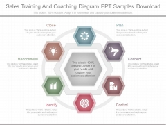 Sales Training And Coaching Diagram Ppt Samples Download