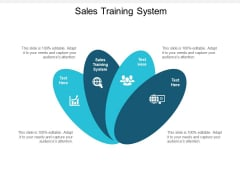 Sales Training System Ppt PowerPoint Presentation Model Rules Cpb